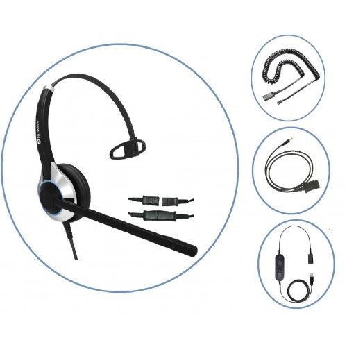 TruVoice HD-500 Headset (Homeworker Bundle)