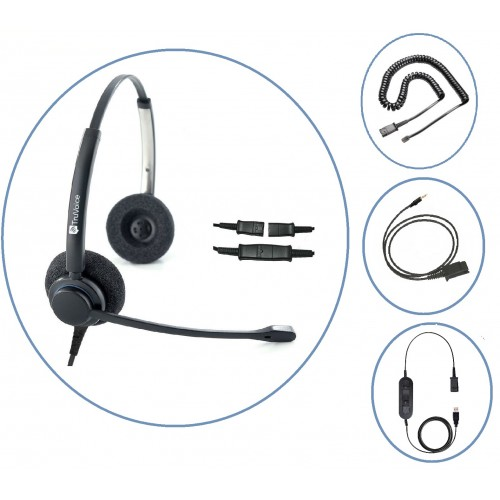 TruVoice HD-150 Headset (Homeworker Bundle)