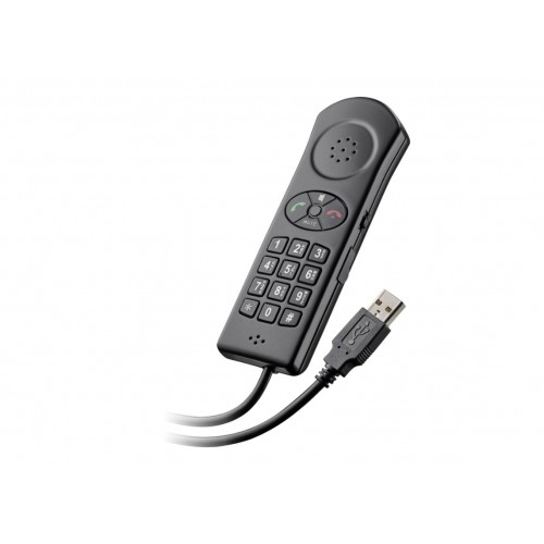 Plantronics P240-M, Usb Handset Dial Pad For Use With Pc, Microsoft Lync/Oc W/Stand (Old Part Number 57250.001 & 57250.004)