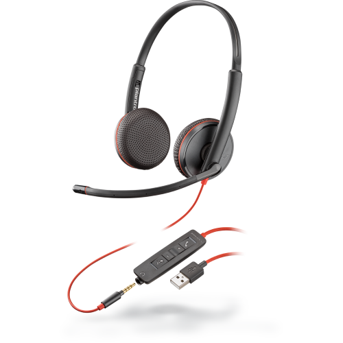 Plantronics Blackwire C3220 USB Binaural Headset