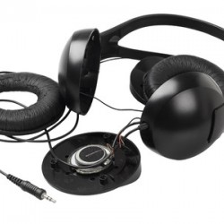 Top breakable parts on telephone headsets